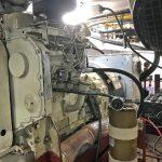 The rebuilt Cummins 4B series generator.