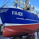 Golden Promise was fully painted at Polruan…