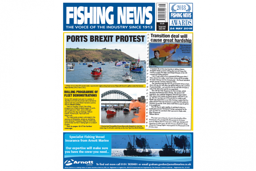 New Issue: Fishing News 19.04.18