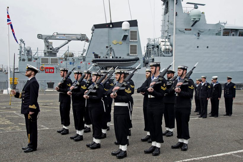 HMS Forth commissioned at Portsmouth