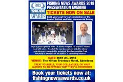 Fishing News Awards Tickets