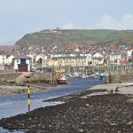 The tidal harbour at Aberystwyth has access for about half the tide.