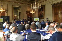 Delegates at the Fishing in Transition seminar, held at Fishmongers' Hall in London, heard that Brexit will be a long process.