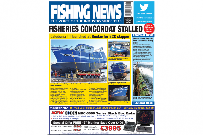 New issue: Fishing News 24.05.18