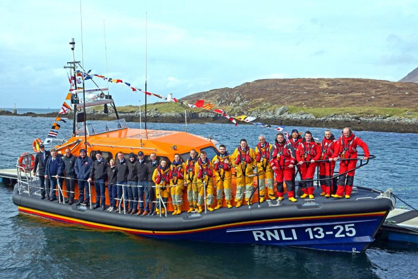 New lifeboat for Western Isles