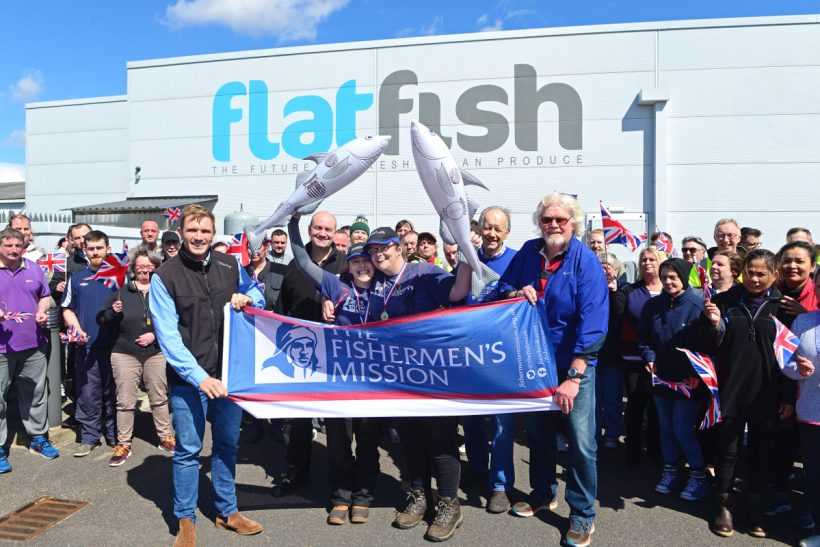 Stoke fishmongers complete 140-mile walk in support of Fishermen's Mission