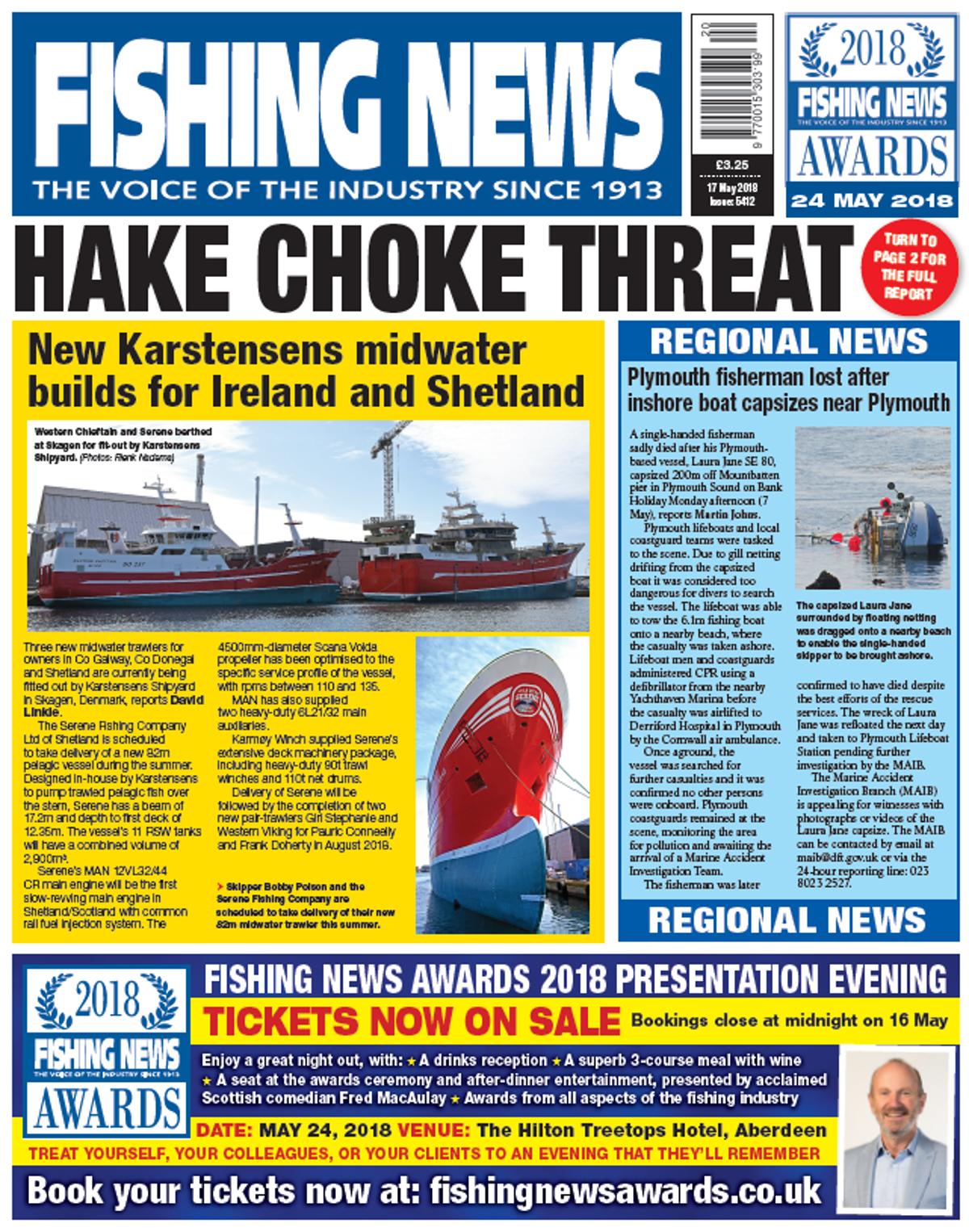 New Issue: Fishing News 17 05 2018   Fishing News