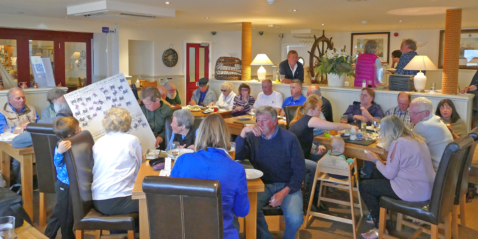 Current and former shellfishermen and their families enjoyed a recent screening of the 'Guardians of the Reef' project at the Cricket Inn in Beesands, South Devon.