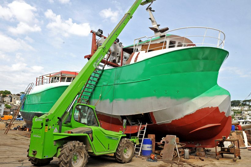 Busy – 'but not too busy' says boatyard boss