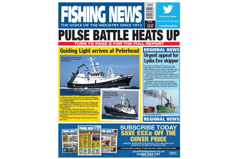 New Issue: Fishing News 14.06.18