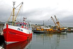 Netters and beamers are key components of Newlyn's diverse fleet of vessels.