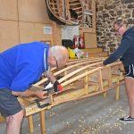 Boatbuilding skills…