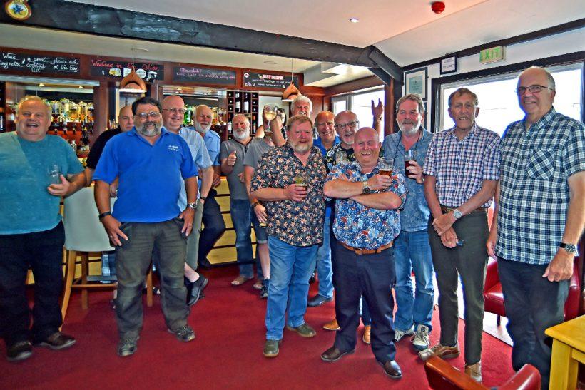 Past Shoreham lifeboat crews reunion