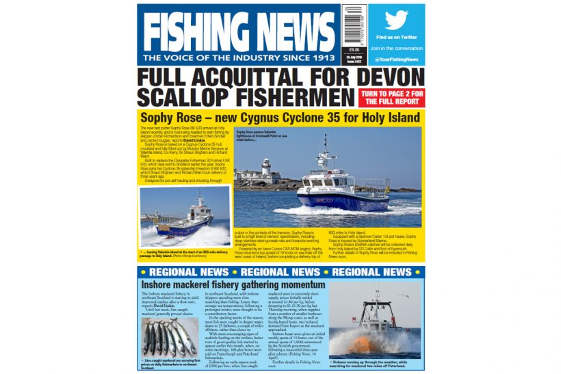 NEW ISSUE: FISHING NEWS 26.07.18