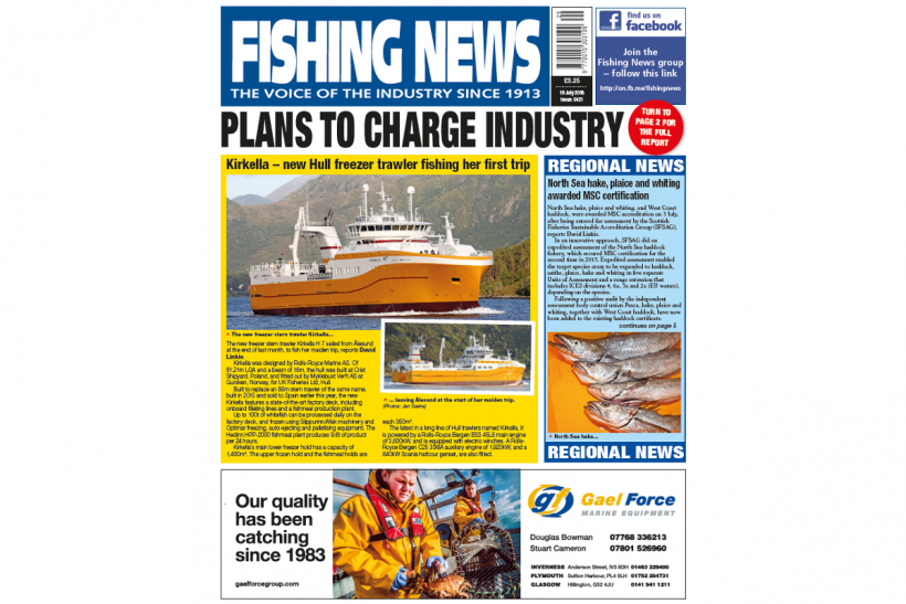 New Issue: Fishing News 19.07.18