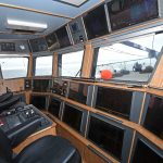 Achieve's main forward and overhead consoles.