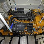 Achieve's Caterpillar 32 ACERT main engine delivers 560kW at 1,600/1,800rpm.