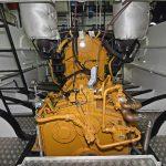 Caterpillar C32 main engine and Reintjes 7.09:1 reduction gearbox.