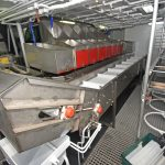 General view of Achieve's fish-handling system.