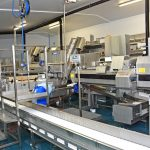 State-of-the-art processing machinery receives the first herring…