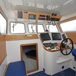 Wheelhouse interior of Sophy Rose.