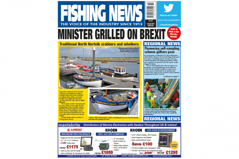 NEW ISSUE: FISHING NEWS 09.08.18