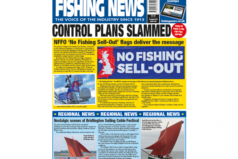 NEW ISSUE: FISHING NEWS 16.08.18