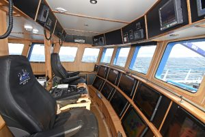 General view of the wheelhouse interior…