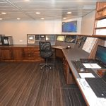 Engine control room.