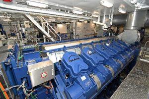 MAN 12V3244CR-TI main engine.