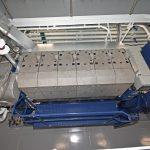 MAN 6L2131 auxiliary engines drive 1,254kWe Stamford 415350 generators.