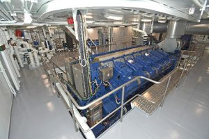 Overall view of the engineroom.