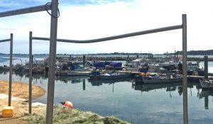 Fishermen's Dock in Poole Harbour.