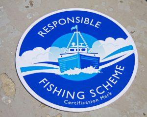 Responsible Fishing Scheme certification mark.