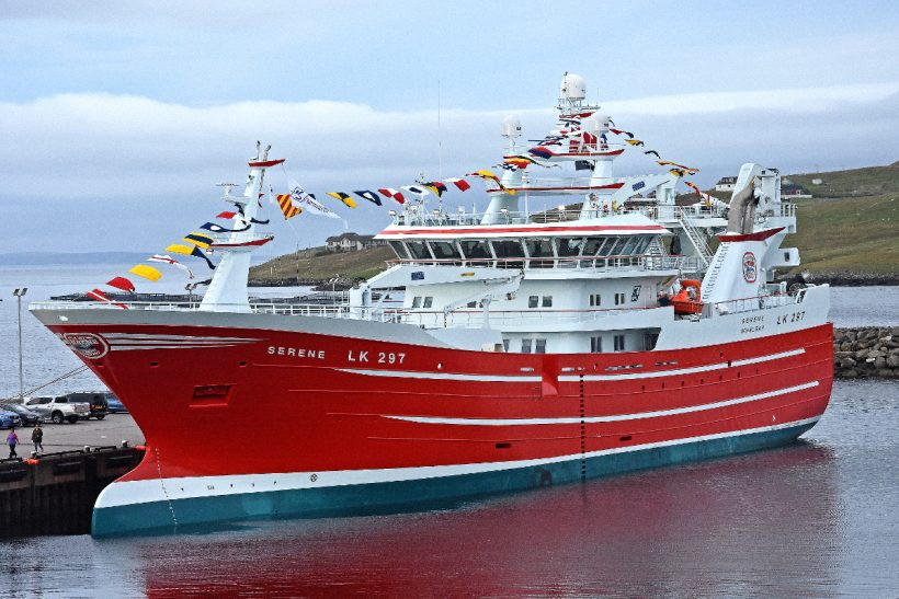 New Serene welcomed home to Whalsay