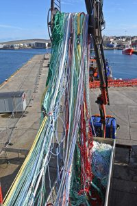 Taking the 1,280m PEPA trawl, made by Swan Net-Gundry...