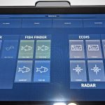 Three 24in touch-screen controllers have various presets, enabling the operator to quickly select preferred displays in relation to Serene's prevailing mode of operation.