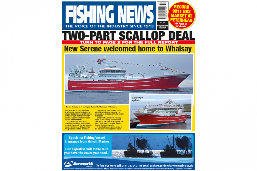 NEW ISSUE: FISHING NEWS 13.09.18