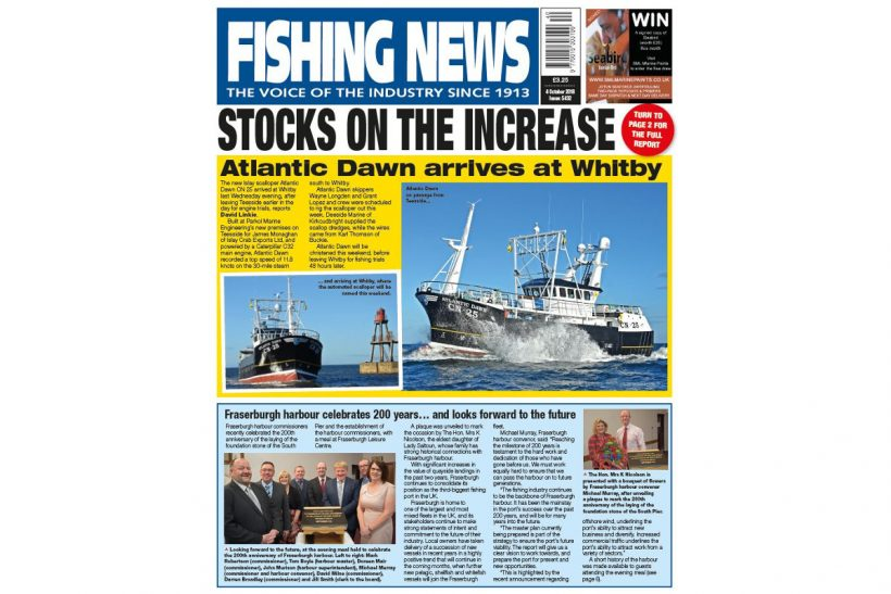 NEW ISSUE: FISHING NEWS 04.10.18