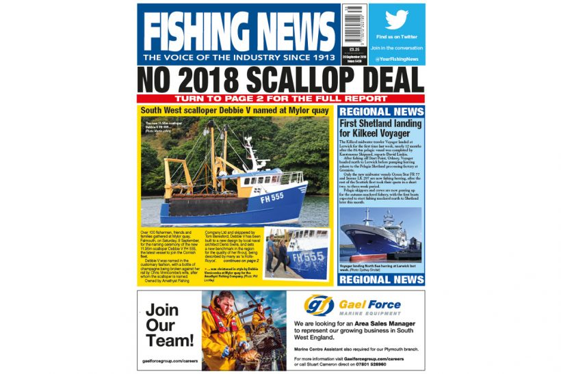NEW ISSUE: FISHING NEWS 20.09.18