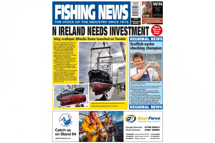 NEW ISSUE: FISHING NEWS 27.09.18