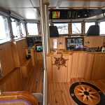 General view of Atlantic Dawn's wheelhouse.