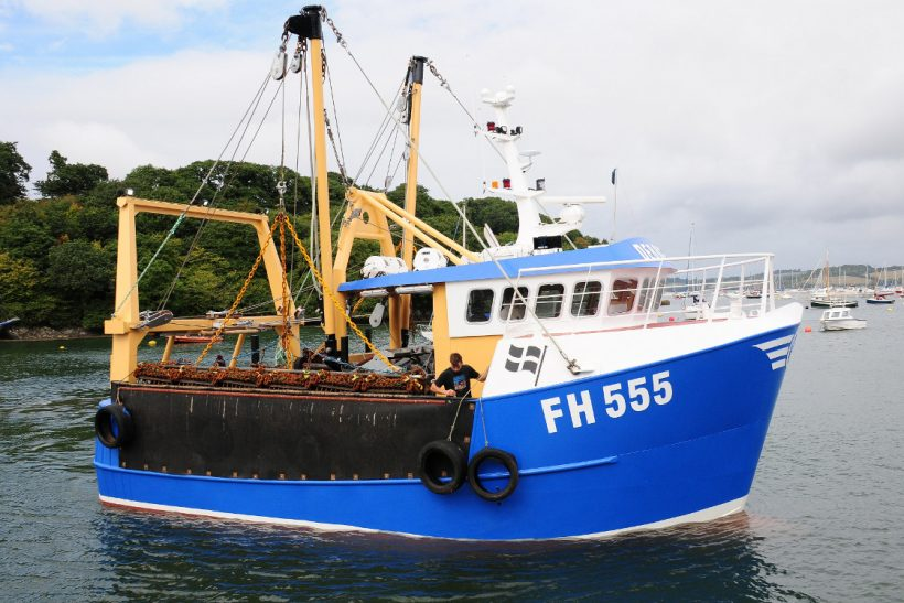 Debbie V – new scalloper built by Cornish men, for Cornish men