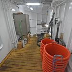 … and is served by a 2.5t Sea Ice seawater ice machine located directly above in the processing area, adjacent to the forward collision bulkhead...
