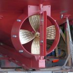 31. Debbie V's four-bladed, 1,600mm-diameter propeller and nozzle were supplied by C&O Engineering of Abbotskerswell.