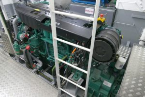 6. Debbie V's main engine is the popular Volvo Penta D13 MH.