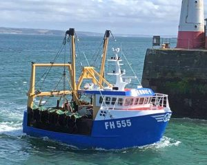9. Debbie V going into Newlyn.