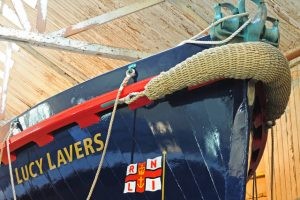 ... and, on a larger scale, made a bow pudding for the Lucy Lavers lifeboat.