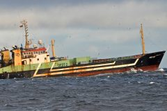 The German-registered factory trawler Annie Hillina.