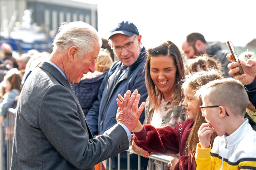 HRH Prince Charles declares new Peterhead fishmarket, inner harbour deepening and reclamation development formally open